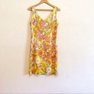 ☀️Kate Spade Paley Paisley Sequin Dress